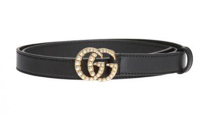 Gucci pasek z dekoracyjną klamrą