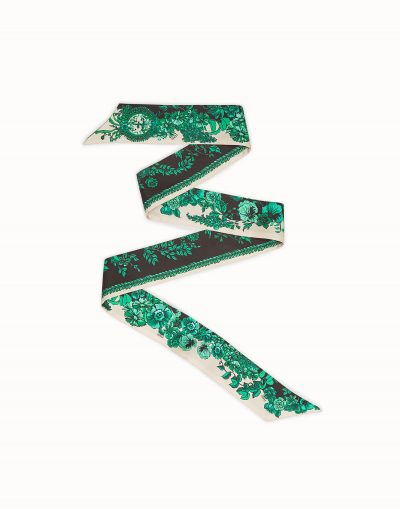 FENDI Multicolour silk bandeau