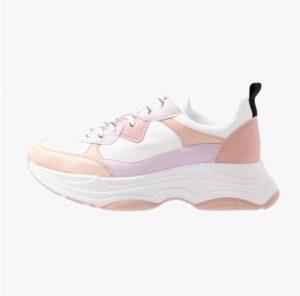 FIZZLED – Sneakersy niskie – nude/pink