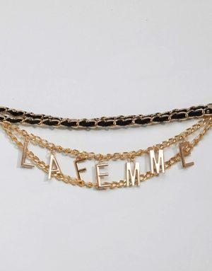 La Femme Chain Belt