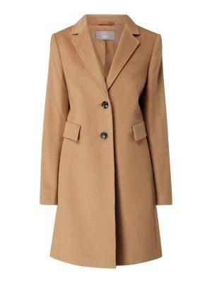 Jake*s Collection Krótki płaszcz Wielbłądzi