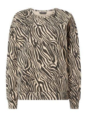 Set Bluza ze wzorem w zebrę