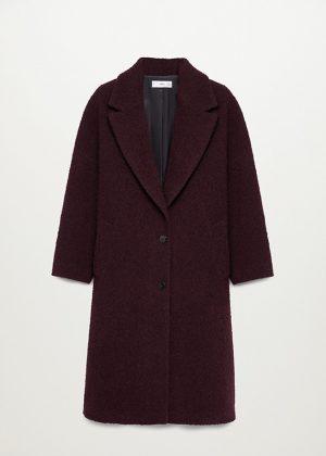 Wełniany płaszcz oversize