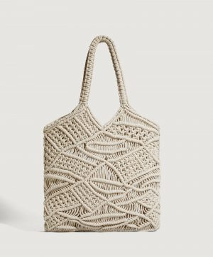 Makramowa torba shopper